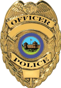 pyro police badge