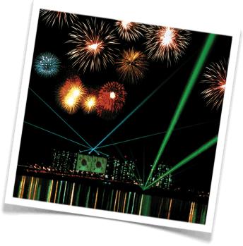Korean fireworks, fireworks in Korea, huge fireworks show, fireworks and lasers, incredible fireworks