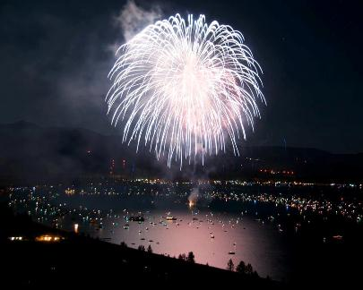 Lake Tahoe Labor Day Weekend Fireworks Extravaganza!