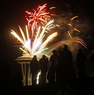 Celebrate New Year's Eve with fireworks from the Needle