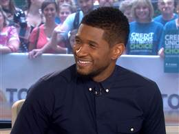 Usher creating 'different take' on July 4 fireworks