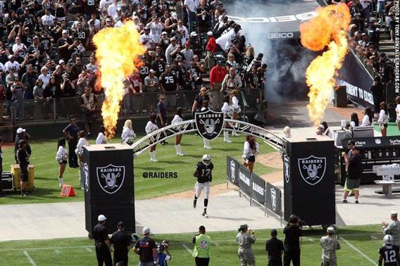 Lighting Up the Raider Nation