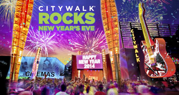 Citywalk Rocks New Year's Eve