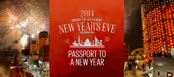 Passport to a New Year on the Queen Mary