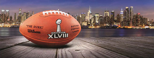 Super Bowl XLV111 in New York City