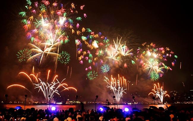 A Pyro Spectaculars by Souza fireworks (Photo: Courtesy of Gary Souza)