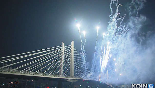 TriMet throws party, fireworks show to celebrate Orange Line