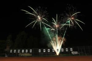 Fireworks at Damien High School