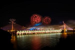 #fireworks, #GoldenGateBridge, where to watch San Francisco fireworks, fireworks in Oakland, best fireworks in the Bay Area, incredible fireworks photos