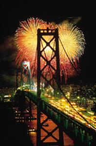 #fireworks, San Francisco fireworks, Golden Gate Bridge anniversary, Bay Area fireworks, America's biggest fireworks shows