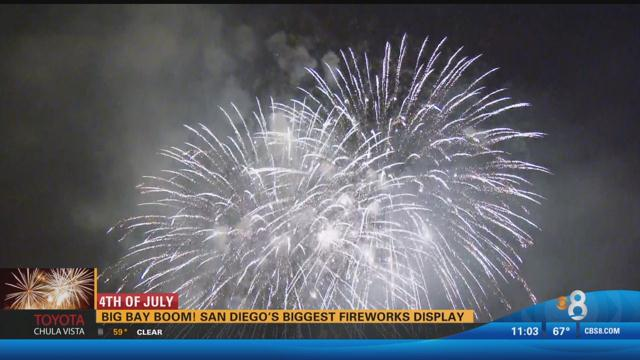 Big Bay Boom! San Diego's biggest fireworks display