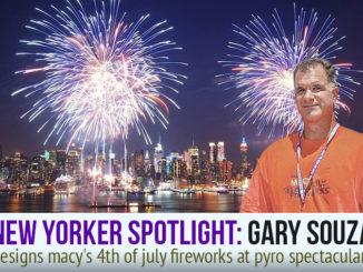 Gary Souza in New York City