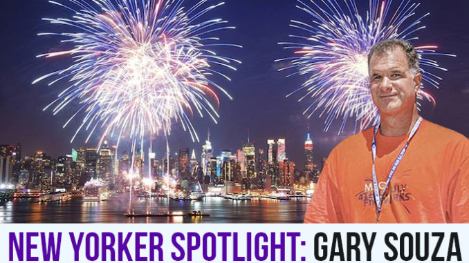 Gary Souza in New York City