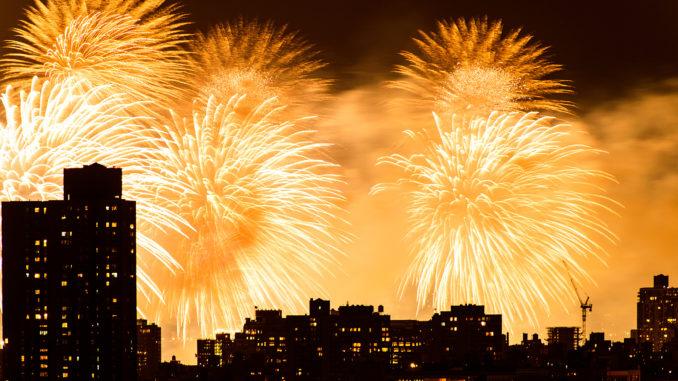 Macy's Fireworks 2013, via Douglas Palmer/Flickr