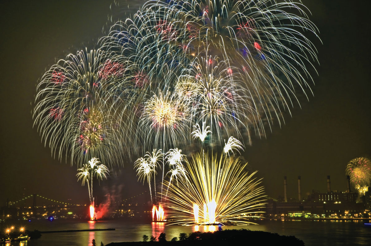 The July 4 sky will be exploding by design