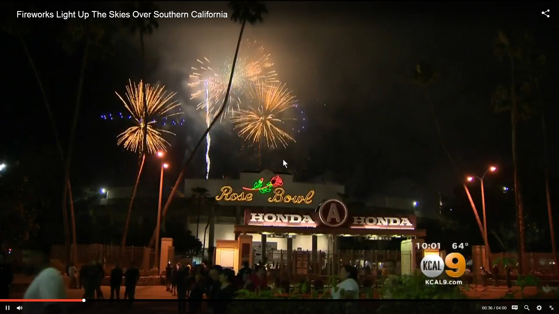 Fireworks Light Up Southern California Skies