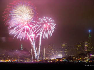 Fireworks over San Francisco in 2015. (David Yu/Flickr)