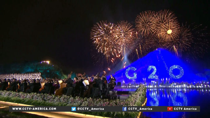 Photo from CCTV-America (http://www.cctv-america.com/2016/09/04/g20-summit-gala-includes-music-dancing-and-fireworks)
