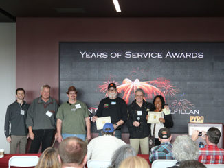 2016 Pyro North Seminar Years of Service Awards