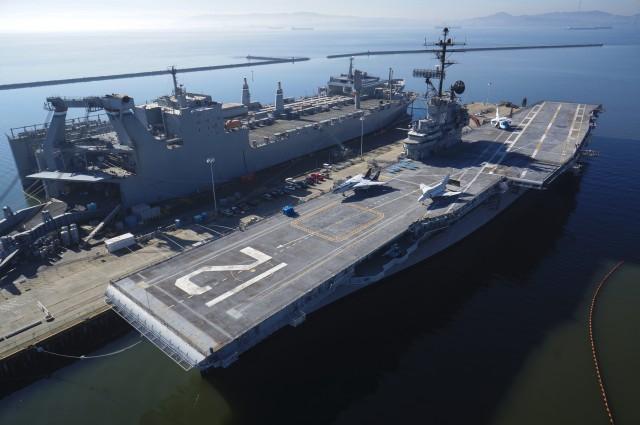 USS Hornet Aircraft Carrier Alameda CA