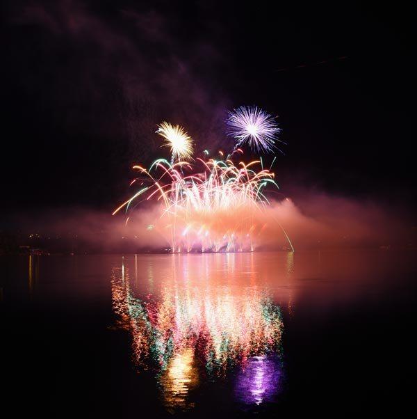 Redlands fireworks