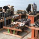 Pyro Spectaculars Team Prepares Elaborate $30K Fireworks Display to Launch from Barge on Humboldt Bay