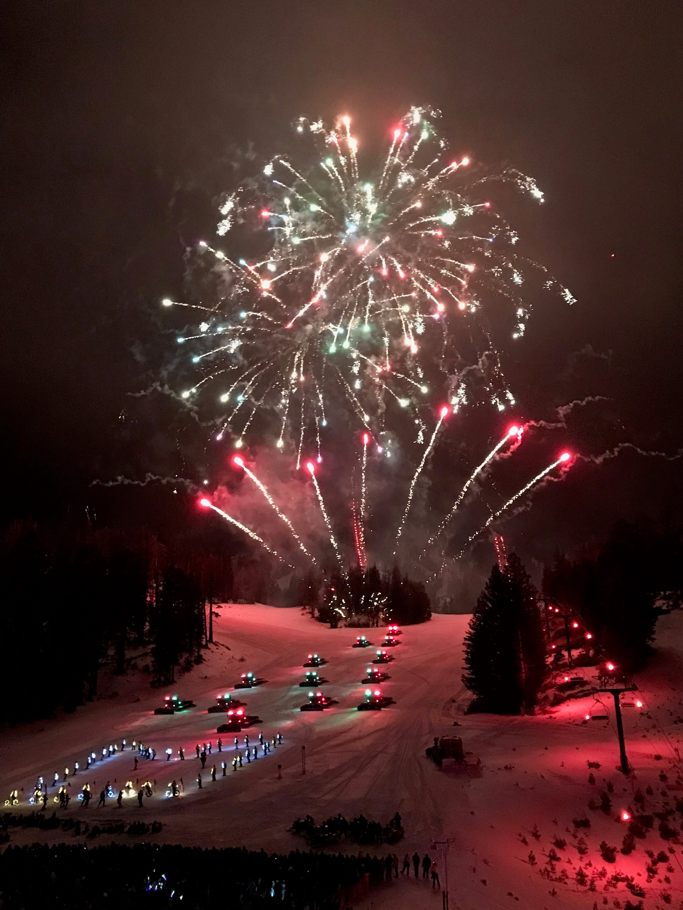 Mammoth Mountain Opening Extravaganza with Pyro Spectaculars