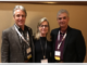 American Pyrotechnics Association President Ian Gilfillan, Executive Director Julie Heckman, Past President Jim Souza