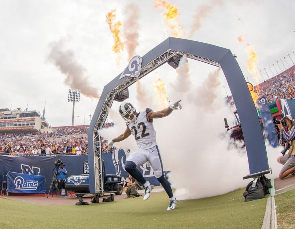 Special Effects and Fireworks for Sporting Events
