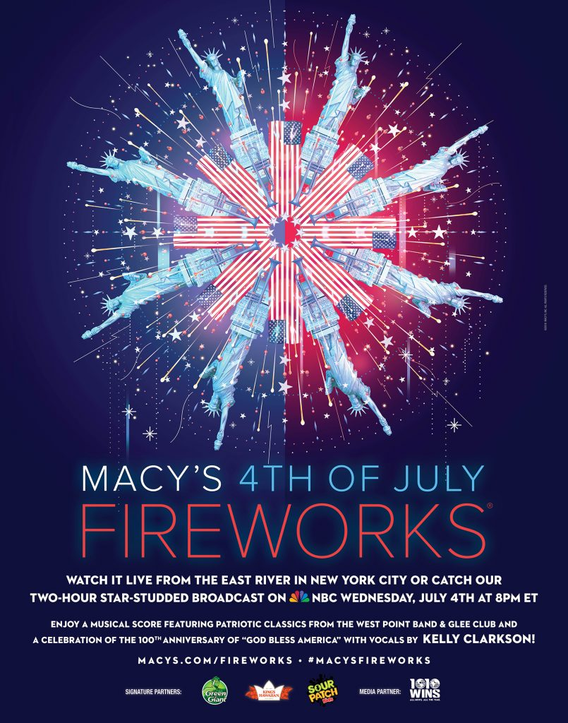 Macy's Fireworks Poster