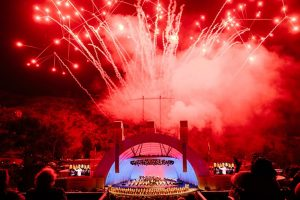 Spectacular fireworks for the LA Phil's 100th season.