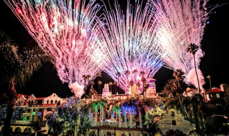 Pyro Spec's dazzling show for the Riverside Festival of Lights Switch on Ceremony 2018
