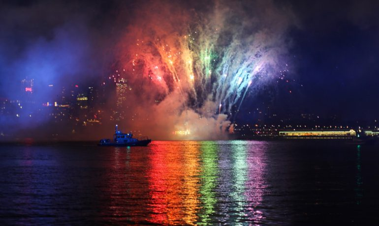 Macy's Fireworks Spectacular Lights Up The Fourth Of July With Stunning New Display