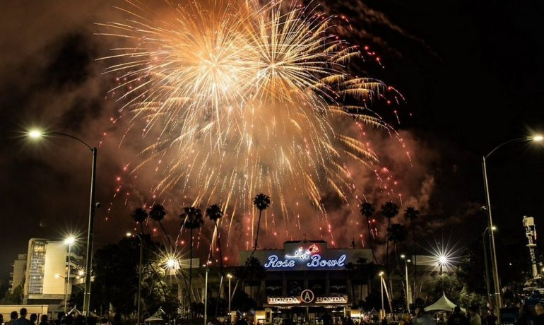 "AmericaFest Roars Over Rose Bowl with ""Lion King"" Themed Spectacular"