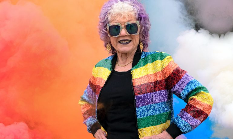Judy Chicago Rainbow AR, The Artist's First Virtual Artwork