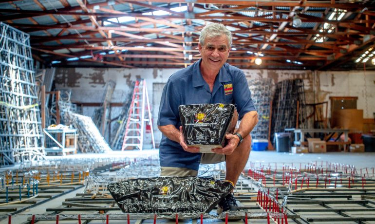 Rialto pyrotechnics company rebounds from 'devastating' pandemic, plans 250 fireworks shows this year