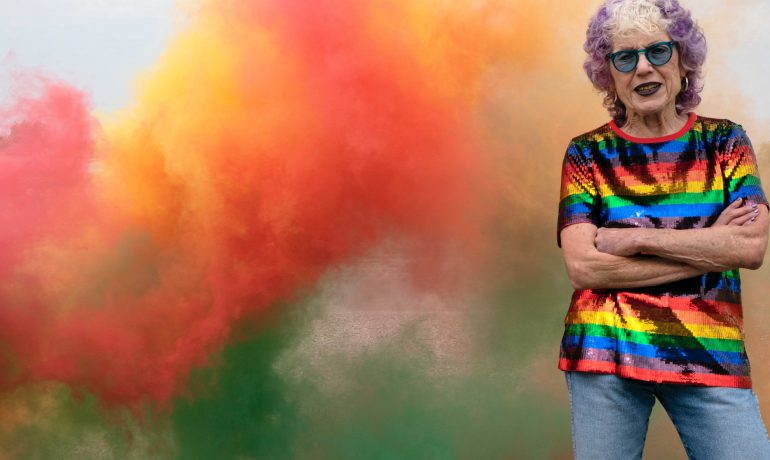 """Pyro Spec is back with Judy Chicago for her Forever de Young """"Atmosphere"""""""